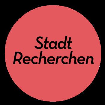StadtRecherchen Logo