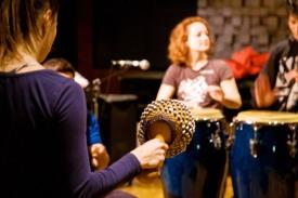 StadtRecherchen Musik- und Tanz-Workshop - Foto: Verena Schäffer