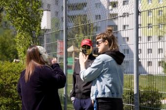 StadtRecherchen Rap-Workshop - Foto Verena Schäffer