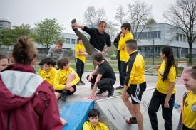 Neue Sportmittelschule Donaustadt - Foto Reinhard Werner