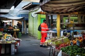 Stand 129, Viktor-Adler-Markt - Foto Reinhard Werner